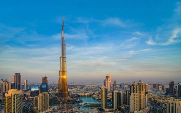 Dubái, en los Emiratos Árabes Unidos, te espera