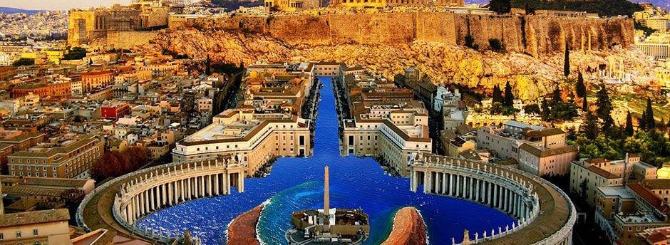 Vuelo más hotel a Atenas
