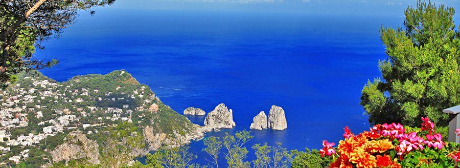 Approfitta delle nostre offerte di vacanze in famiglia a Capri