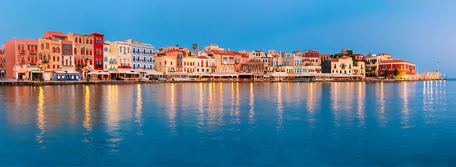 Sun holidays to Crete