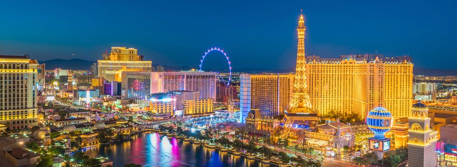 Booking to Las Vegas