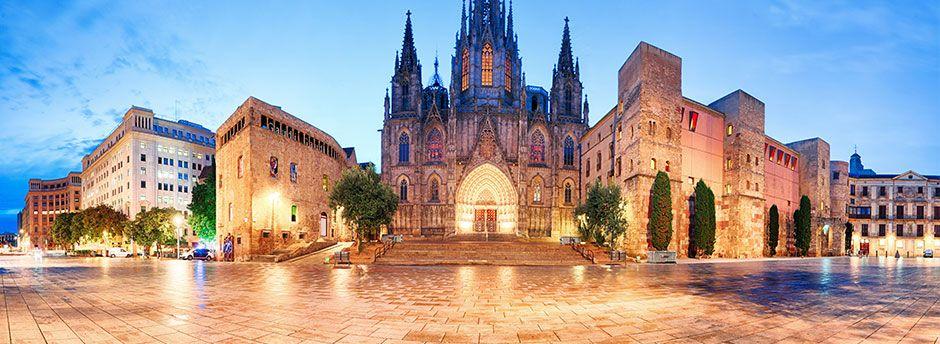 Sun holidays to Barcelona