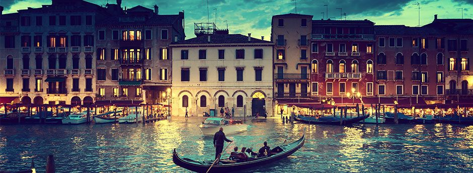 Booking to Venice